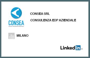 Visiona il profilo di CONSEA SRL su Linkedin