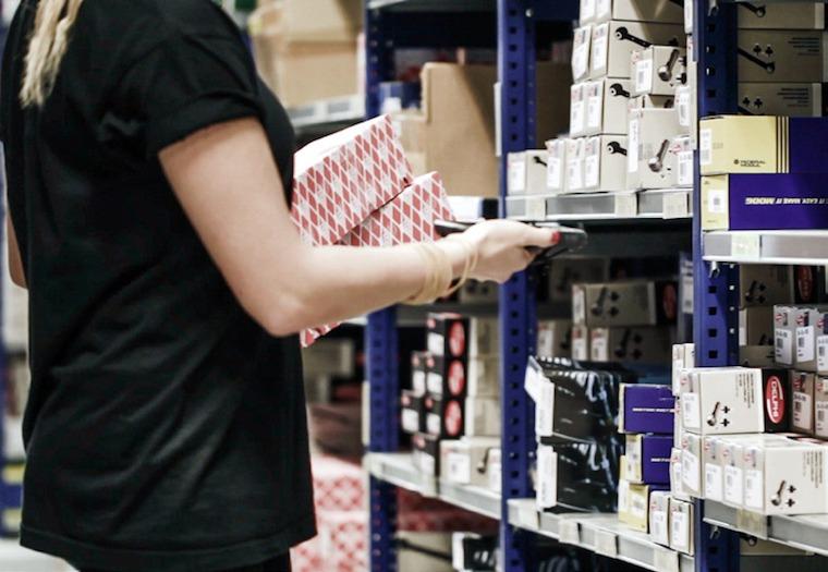 gestire il magazzino con le soluzioni CONSEA, Milano