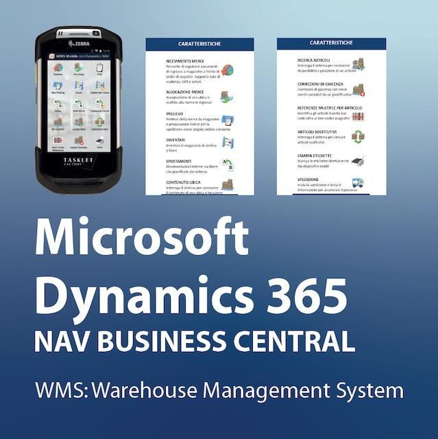 Consea ERP Microsoft Dynamics NAV BC365 WMS Warehouse Management System
